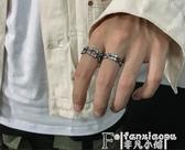 戒指Carmen/原創復古潮牌戒指男士單身個性嘻哈街頭鈦鋼指環食指尾戒 聖誕節
