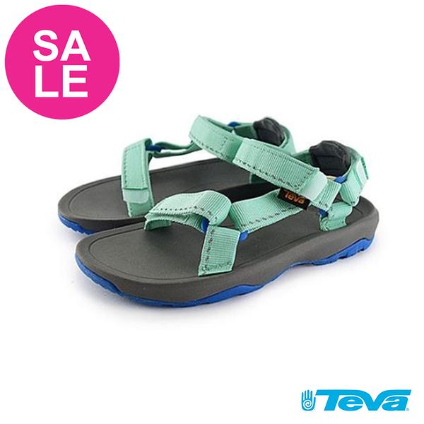 TEVA Hurricance XLT 2 童涼鞋 經典織帶涼鞋 中童 零碼出清 I6912#綠色◆OSOME奧森鞋業