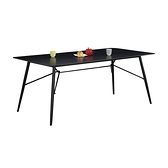 克萊爾6尺岩板餐桌(21CM/981-1)/H&D東稻家居