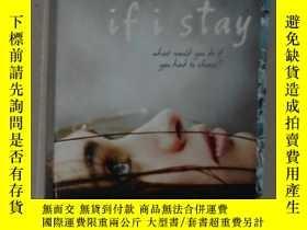 二手書博民逛書店英文原版罕見If I Stay by Gayle Forman