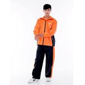 【東門城】M2R M7(黑橘) 兩件式雨衣 反光設計