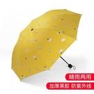 雨傘 全自動雨傘少女心ins折疊晴雨兩用s太陽傘男女防曬防紫外線遮陽傘 【免運】