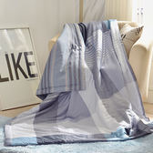 〔涼夏特惠〕義大利La Belle《英式風格》純棉吸濕透氣涼被(5x6.5尺)