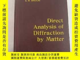 二手書博民逛書店direct罕見analysis of diffraction