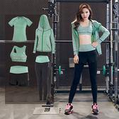 【優選】正韓運動瑜伽服套裝女健身房專業跑步速干