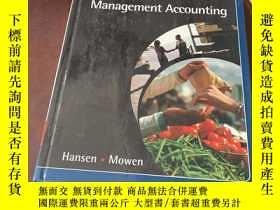 二手書博民逛書店Management罕見Accounting (7th edit
