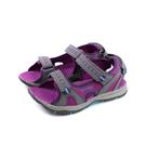 MERRELL 涼鞋 運動鞋 灰/紫紅 魔鬼氈 童鞋 MLK162956 no060 20~25.5cm