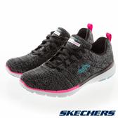 SKECHERS 女 運動系列 FLEX APPEAL 3.0 - 13058WBKMT