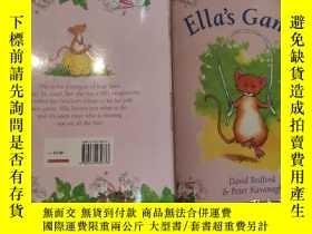 二手書博民逛書店ella s罕見games 艾拉的遊戲Y200392