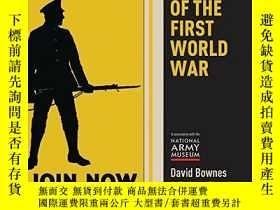 二手書博民逛書店Posters罕見Of The First World WarY256260 David Bownes Shi
