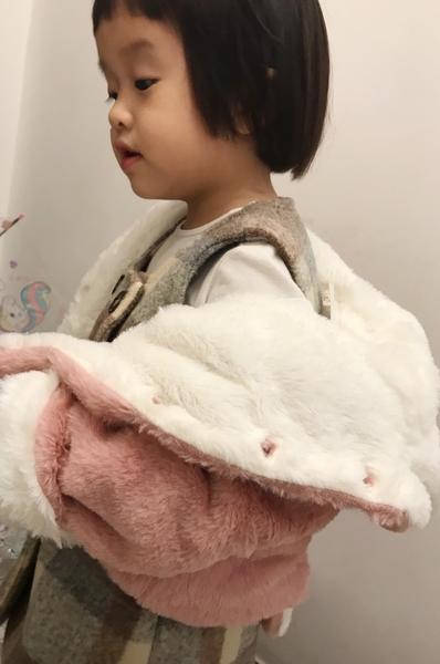小狐狸毛絨超萌外套 聖誕保暖 橘魔法Baby magic 現貨 兒童 童裝 女童男童 中小童