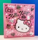 【震撼精品百貨】Hello Kitty 凱蒂貓~三麗鷗 KITTY 日本A4三孔活頁文件/套-繪畫風#73145