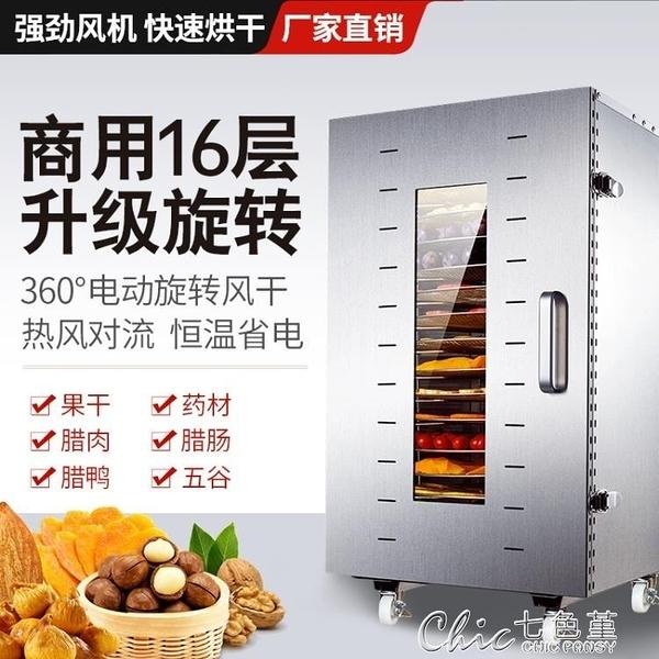 快速出貨 乾燥機 商用旋轉水果烘干機食品臘魚肉蔬菜藥材干果風干機箱家用 【新春歡樂購】