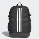 adidas 後背包 3-Stripes Power Backpack Large 黑 白 男女款 三條線 基本款 後肩背包 【PUMP306】 BR5863