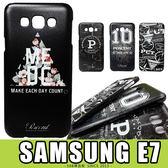 E68精品館 三星 SAMSUNG E7 台灣品牌 PERCENT 彩繪設計 保護殼 硬殼 保護套 手機殼 背蓋 E7000