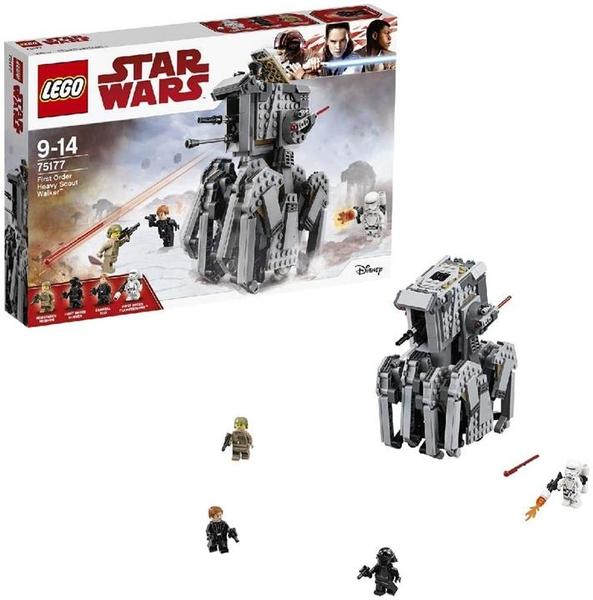 LEGO 樂高 星球大戰 第一秩序 赫比・斯科特・沃克75177