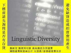二手書博民逛書店Linguistic罕見DiversityY255174 Dan