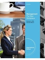 二手書博民逛書店 《Management: The New Workplace》 R2Y ISBN:1111822638│DorothyMarcic