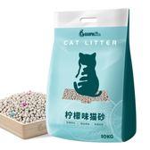 貓砂貓砂10公斤膨潤土結團貓砂除臭檸檬貓沙吸水貓砂20斤10kg    萌萌小寵igo