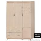 INPHIC-Ruby 奧斯卡4×6尺洗白色衣櫥_9PFn