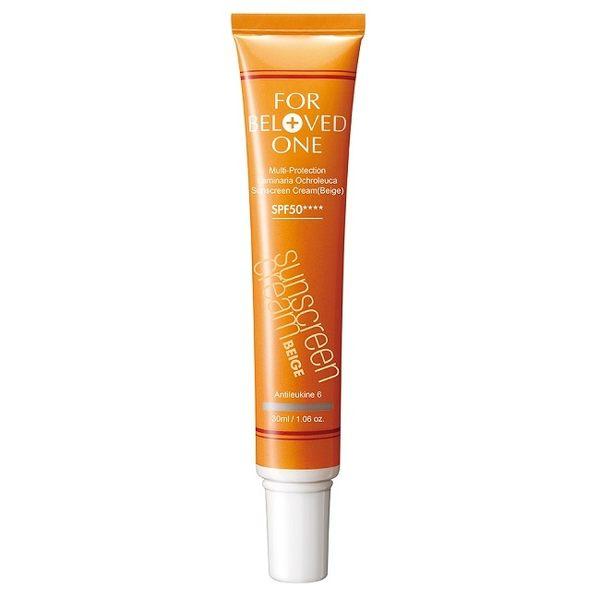 寵愛之名全防護黃金藻水感防曬霜SPF50(膚色)30ml