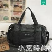短途旅行包男手提行李包大容量出差旅行袋子運動健身包斜挎包潮牌 小艾新品