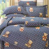 【名流寢飾家居館】星樂園.100%天絲.超柔觸感.加大雙人床包組