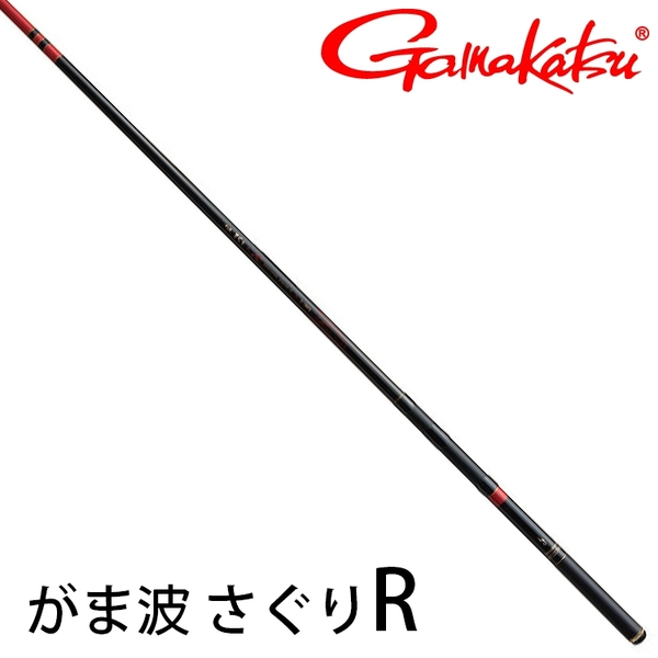 漁拓釣具 GAMAKATSU がま波 さぐりR 1號 3.9M [防波堤磯釣竿]