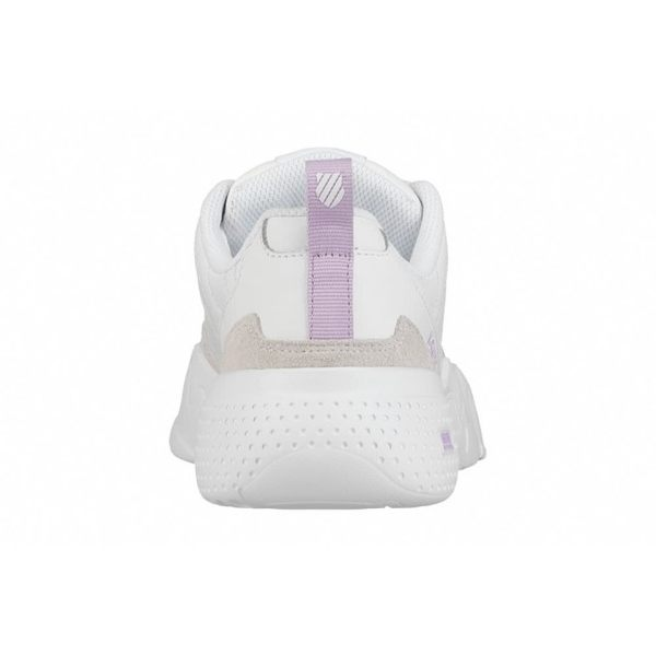【K-SWISS】CR-329 LTR 老爹鞋-女-白/粉紫(96157-151)