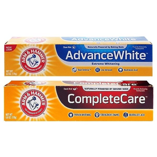 美國 ARM&HAMMER 超潔白/全效護理 牙膏(170g) 款式可選【小三美日】