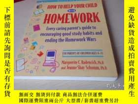 二手書博民逛書店HOW罕見TO HELP YOUR CHILD WITH HOM