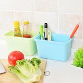 廚房用品   可掛式廚房垃圾/收納桶(小)  廚房清潔 垃圾桶 可掛式 小物收納盒 【KFS050】-收納女王