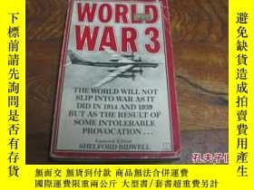 二手書博民逛書店AIRCRAFT罕見OF WORLD WAR 3 ( 世界大戰3