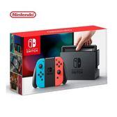 【超值優惠】Nintendo 任天堂 Switch 主機 電光紅藍(台灣公司貨)
