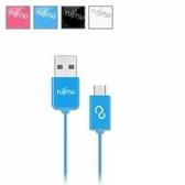 [富廉網] FUJITSU 富士通 UM100 MICRO USB傳輸充電線-1M