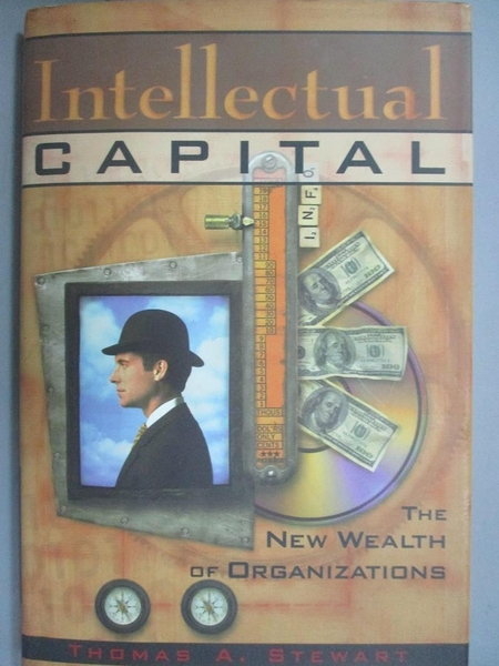 【書寶二手書T9/大學資訊_EYY】Intellectual capital : the new wealth of organizations_Stewart, Thomas A.