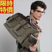 手提包-休閒旅遊單肩有型男帆布包2色67g58[巴黎精品]