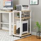 電腦托架 電腦主機托架落地機箱放置架辦公室置物架可移動桌邊打印機架TW【快速出貨八折搶購】