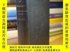 二手書博民逛書店The罕見Structure of MatterY354044 Francis Owen Rice John