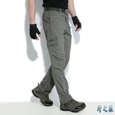 戶外軍迷速干褲男女夏季薄款戰術運動直筒快干長褲空降師 FX5050 【野之旅】