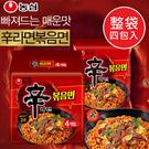 韓國 農心 辛炒麵 (四包入) 524g 辛拉麵炒麵 辛辣炒麵 炒麵 泡麵 辛拉麵 辛辣麵