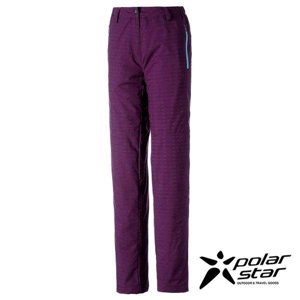 Polarstar 女防潑水保暖長褲『紫/藍綠』排汗│透氣│保暖 P16414