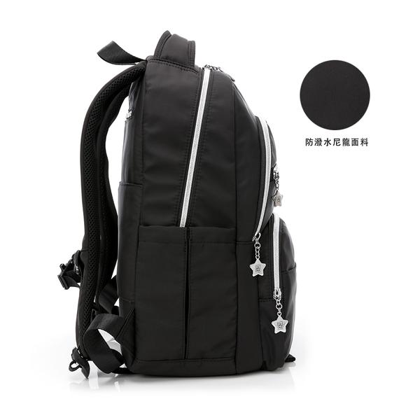 金安德森 城市酷玩 多功能後背包 都會黑