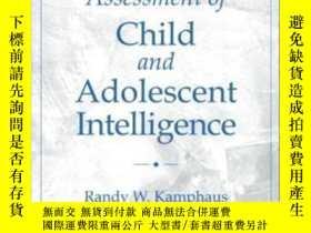 二手書博民逛書店Clinical罕見Assessment Of Child And Adolescent Intelligence