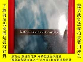 二手書博民逛書店Definition罕見in Greek Philosophy