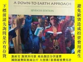 二手書博民逛書店SOCIOLOGY罕見A Down-To-Earth Appro