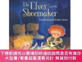 二手書博民逛書店罕見原版 尤斯伯恩經典故事分級讀物1:精靈與鞋匠The Elves AnY454646 Laura Usbor