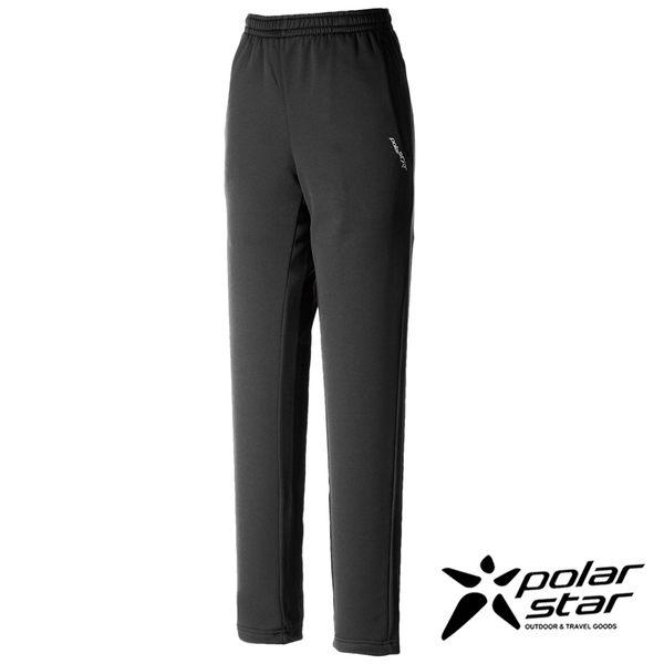 PolarStar 女針織合身保暖運動褲『黑』P16446 休閒褲│登山褲│輕量褲│彈性褲│台灣製造
