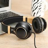 耳機頭戴式 oppo音樂重低音手機電腦通用有線K歌耳麥       智能生活館
