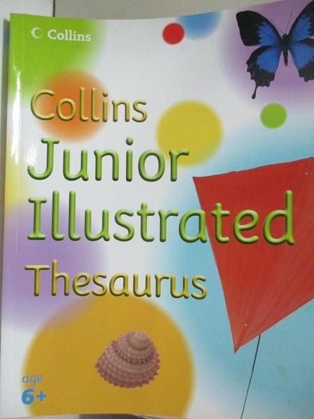 【書寶二手書T2/少年童書_KPG】Collins Junior Illustrated Thesaurus_Evelyn Goldsmith
